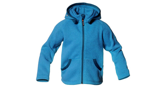 Isbjörn Junior Rib Sweater Hood Hawaiian Ocean